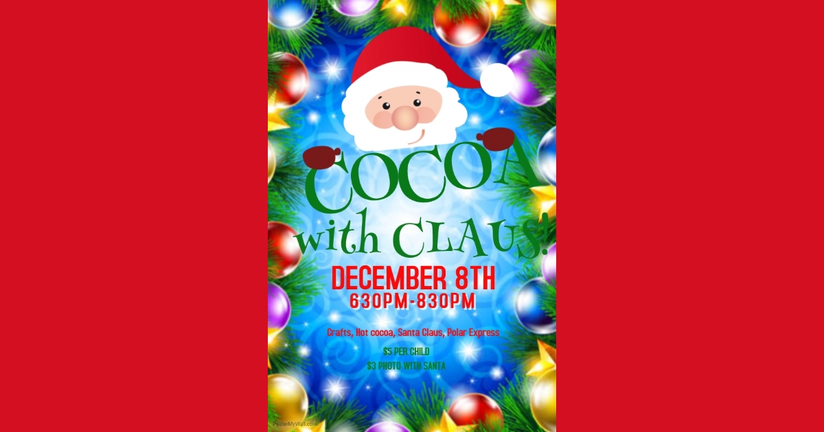 Cocoa with Claus 2017