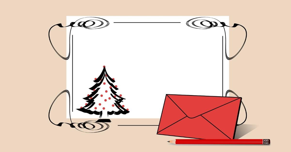Christmas fund envelope