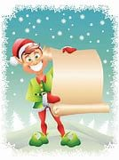 Christmas elf with list