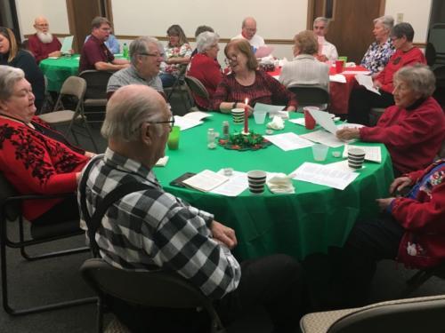 2018 Potluck Christmas Dinner
